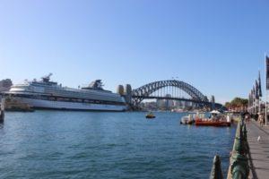 Blick auf Harbour Bridge