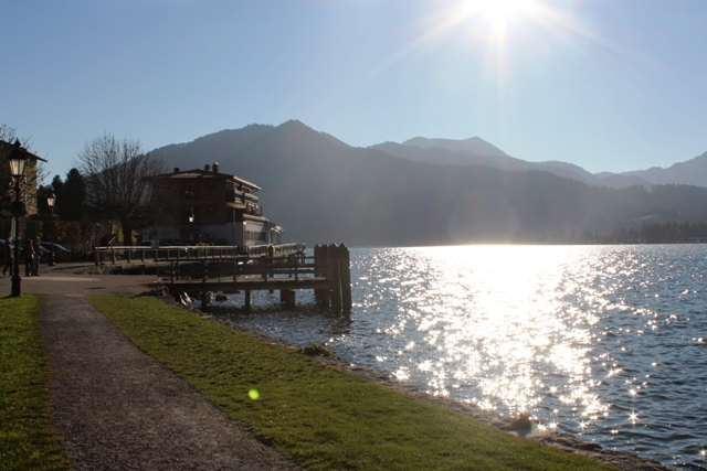 Tegernsee mit Panormablick
