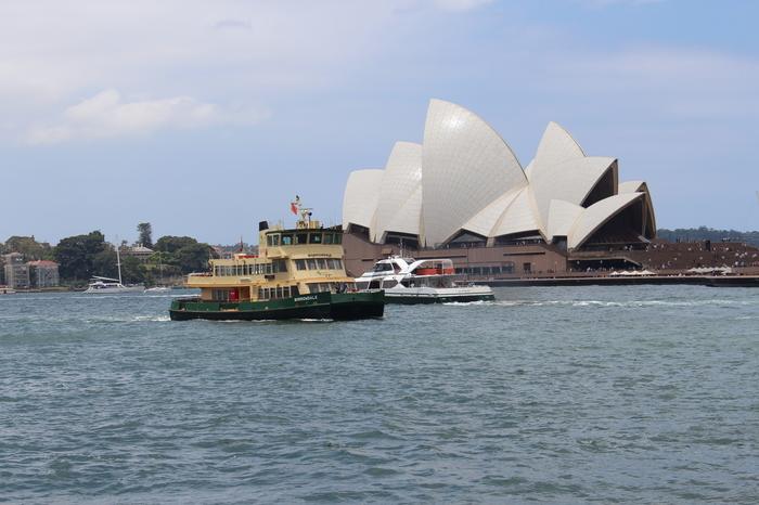 Sydney Circular Quay – Blick auf das Opera House