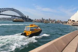 Sydney Circular Quay - Taxi zu Wasser