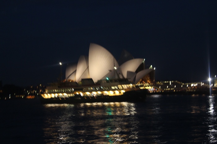 Sydney Circular Quay nachts