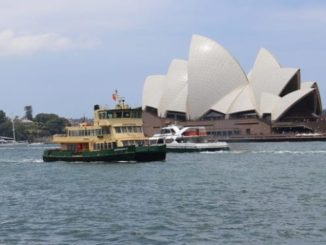 Sydney mit Blick auf das Opera House