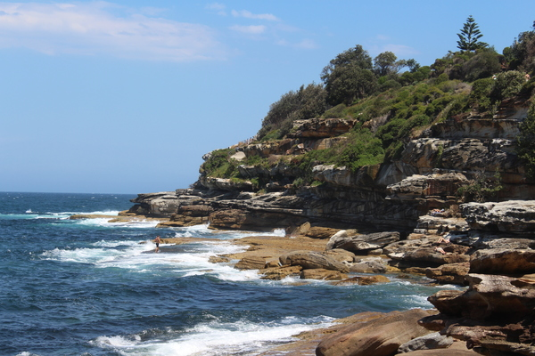 Wanderwege am Bondi Beach