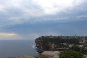 an den Felsklippen in der Nähe zu Watson Bay