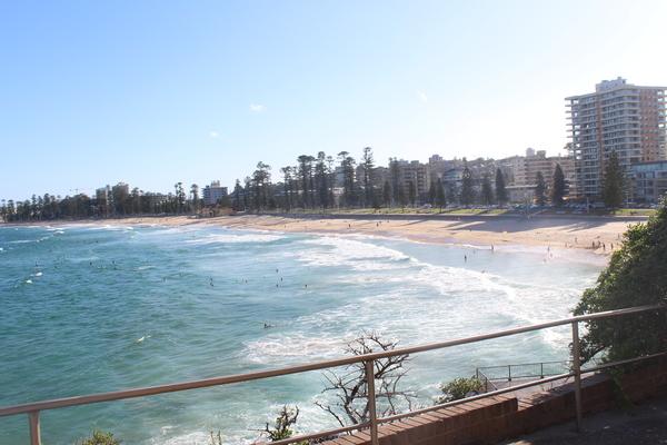 Blick auf Manly Beach