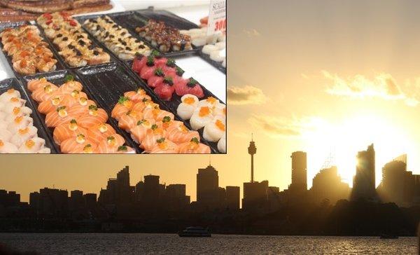 Sydney Fish Market und Botanic Garden
