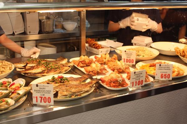 Leckereien im Sydney Fish Market