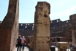 Überbleibsel der alten Zeit in Rom