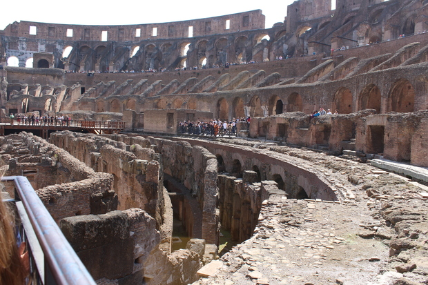 Kolosseum Überreste