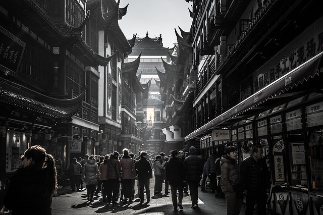 Die größten Städte in China : Shanghai, Peking, Chongqing