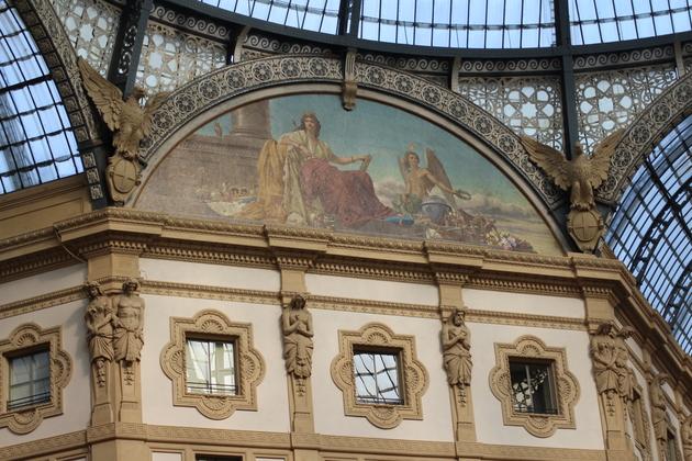 Galleria Vittorio Emanuele Architektur