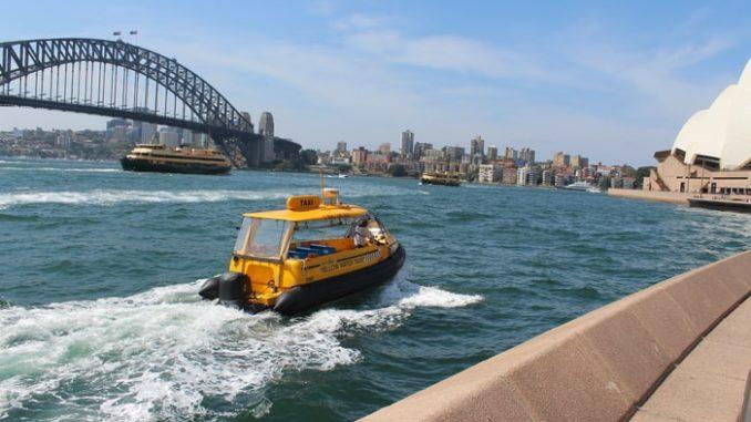 Sydney-Circular Quay-Taxi zu Wasser