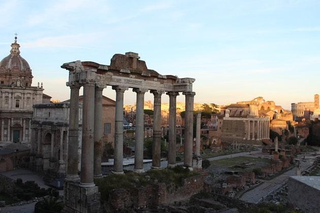 Forum Romanum Gelände