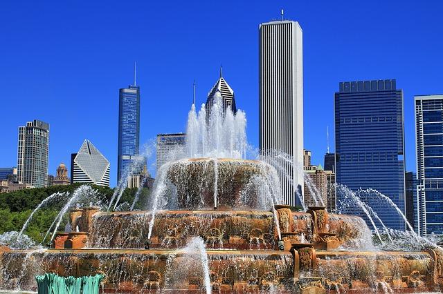 Chicago Brunnen