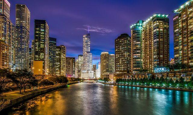 Chicago in Illinois