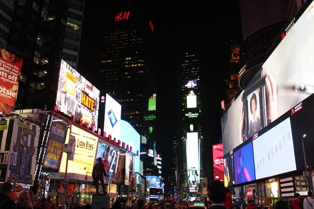Times Square Besuch