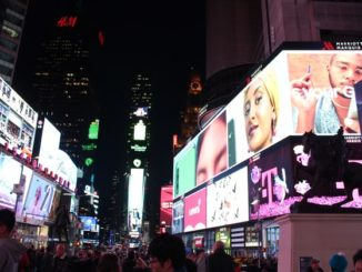 Times Square Werbung