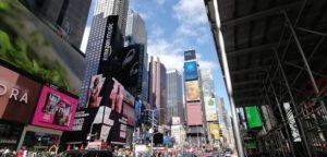 Times Square im Zentrum