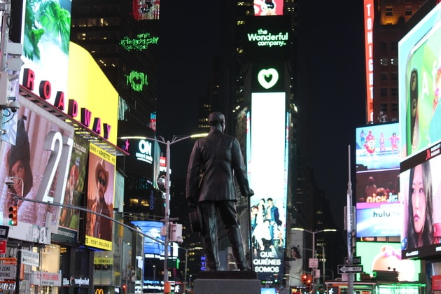 Times Square in NY