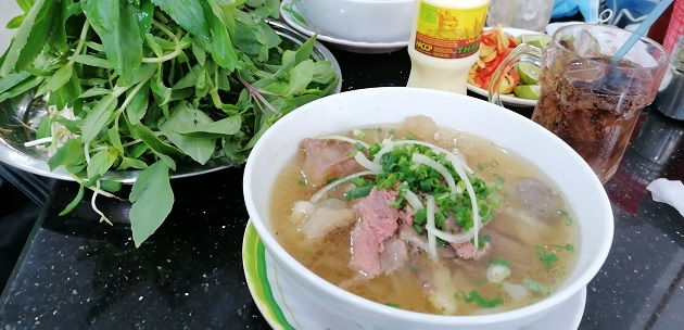 Pho Bo aus Vietnam