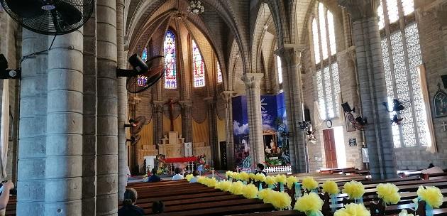 in der Kathedrale von Notre Dame