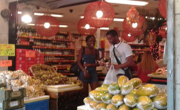 Geschäft Paris Chinatown