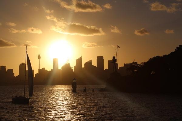 Rückfahrt nach Sydney
