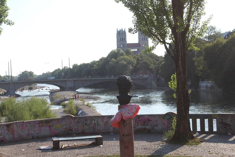 an der Isar in München