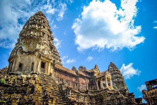 Angkor-Wat-Tempel