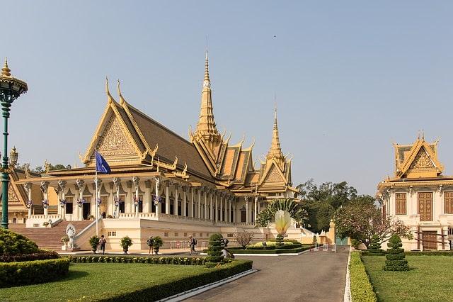 Phnom Penh Koenigspalast