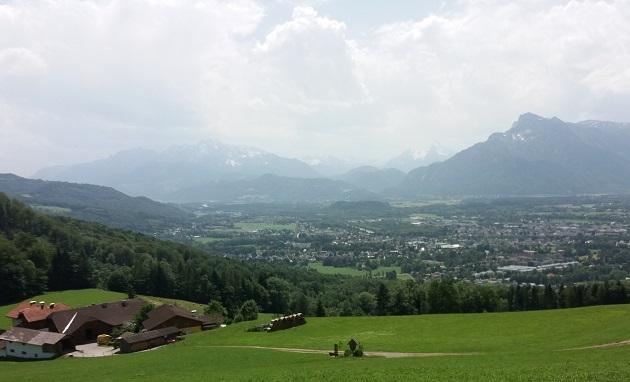 Salzburg Berglandschaft