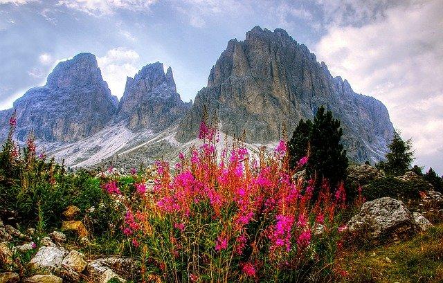 Dolomiten Berge