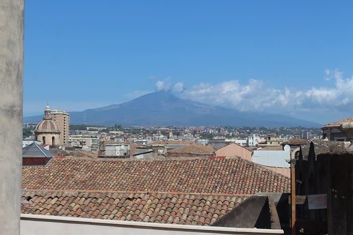 Ausblick auf den Ätna Vulkan