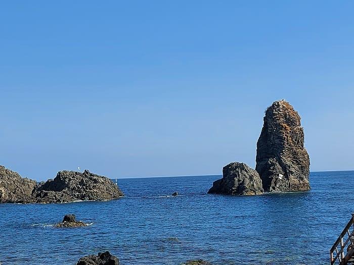 Zyklopeninseln Catania