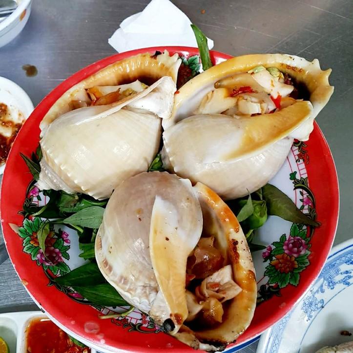 Meeresfrüchte in Restaurants in Vung Tau