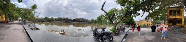 Moped in Hoi An